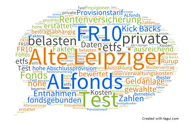 Alte Leipziger ALfonds FR10 fondsgebundene Rentenversicherung