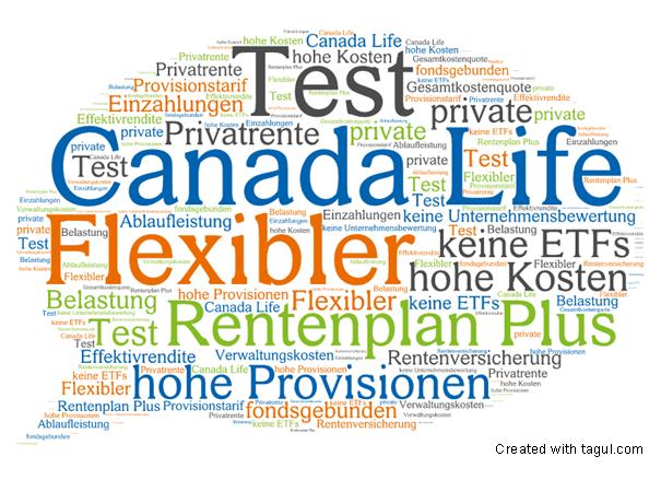 Test: Canada Life Flexibler Rentenplan plus