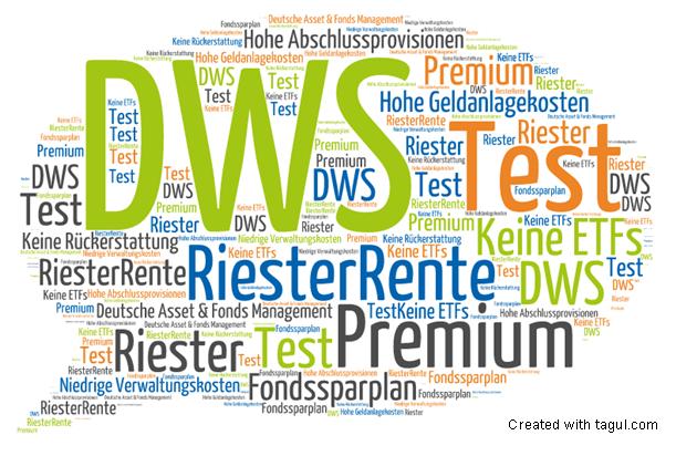 Test: DWS RiesterRente Premium