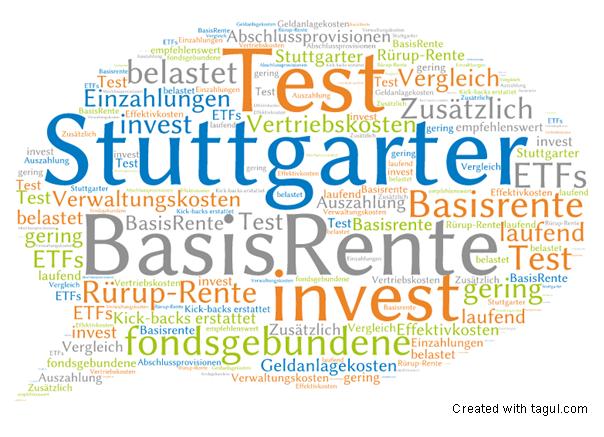Test: Stuttgarter BasisRente invest